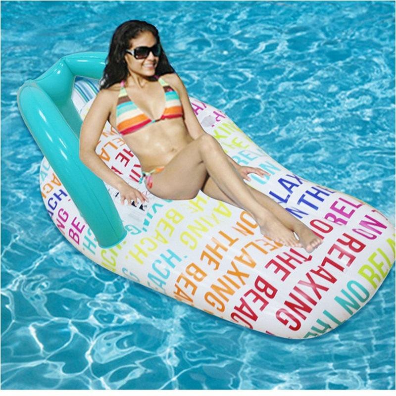 [해외]뜨거운 150 x 75cm 풍선 레인보우 구두 부동 행 비치 수영 물 완구 부동 침대 뗏목 수영 반지 에어 매트리스/Hot 150 x 75cm Inflatable Rainbow slipper Floating Row Beach Swimming  Water Toys