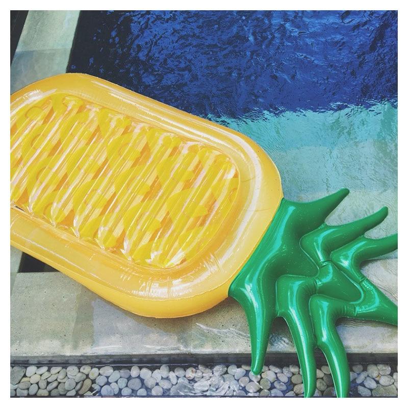 [해외]수영장 거대한 팽창 식 파인애플 수영장 부표 수영 반지 팽창 식 수영장 부 풀리는 팽창 식 매트리스 수영장 당 재미 장난감/Swimming Pool Giant Inflatable Pineapple Pool Float Swim Ring Inflatable Pool