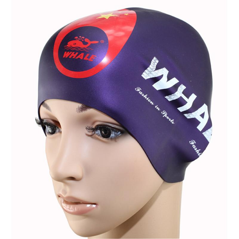 [해외]새로운 방수 유연한 실리콘 라운드 수영 모자 귀 보호 긴 모자 보호 수영 모자 모자 커버 성인용/New Waterproof Flexible Silicone Round swimming cap ear protect Long Hair Protection Swim Ca