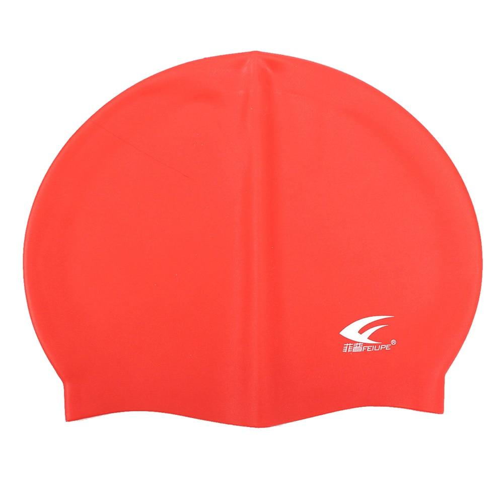 [해외]수영 모자 UniSilicone는 수영 모자 방수 샤워 숙녀 남자를 주조했다/Swimming Pool Cap UniSilicone Molded Swim Hat Waterproof Shower Ladies Mens