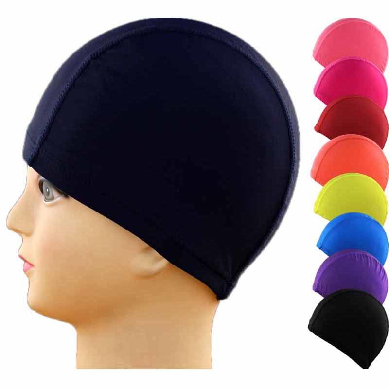 [해외]?1pcs 솔리드 수영 모자 실리콘 수영 모자 물 증거 성인 모자 남성 순수한 색 수영 모자/ 1pcs Solid Swimming Cap Silicone Swimming Hats Water-proof Adult Caps Men Pure Color Swimming