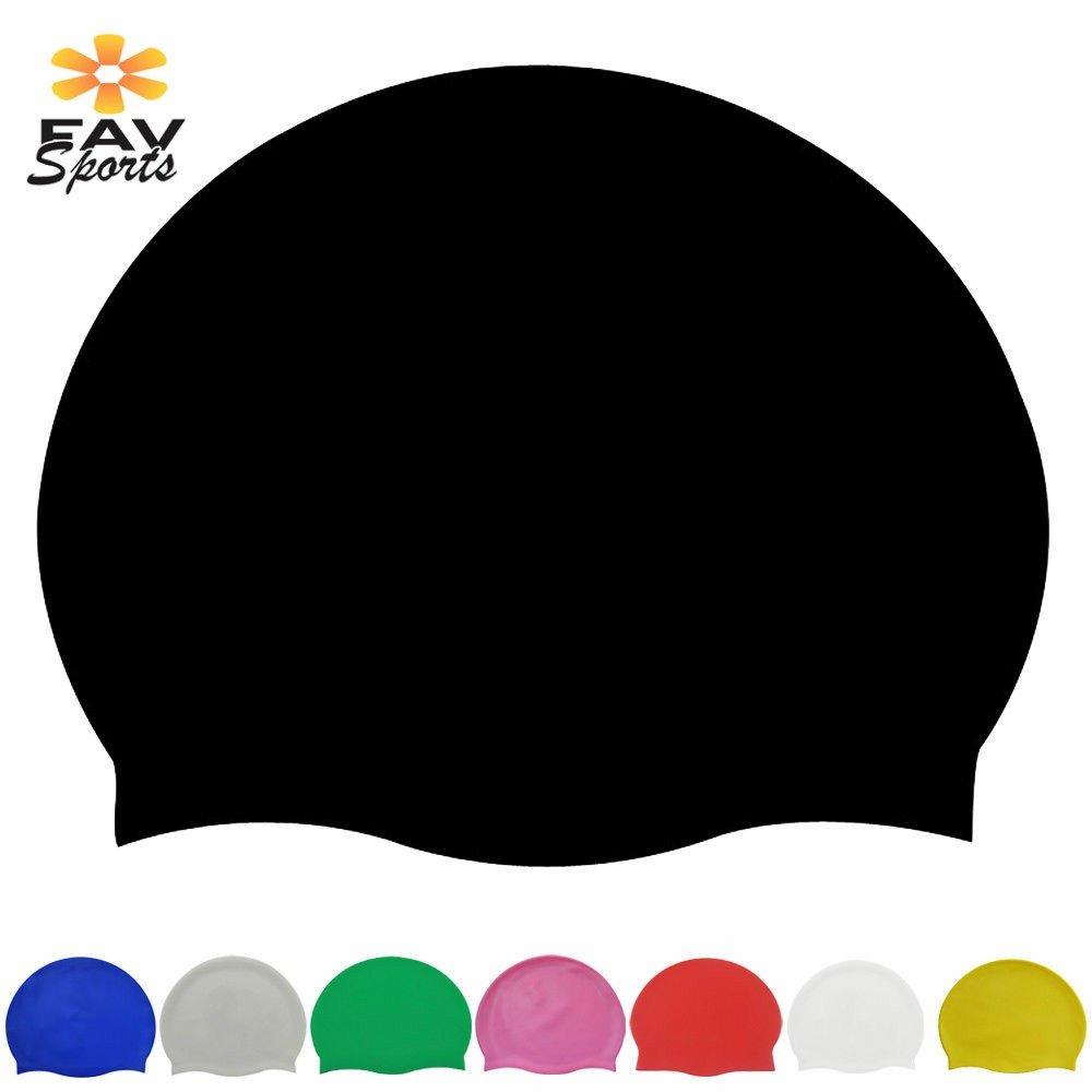 [해외]성인 고탄력 가변 수영 풀 모자 귀 프로텍터 모자 커버에 대 한 방수 실리콘 긴 머리 수영 모자/Waterproof Silicone Long Hair Swimming Caps For Adult High Elastic Adjustable Swim Pool Cap