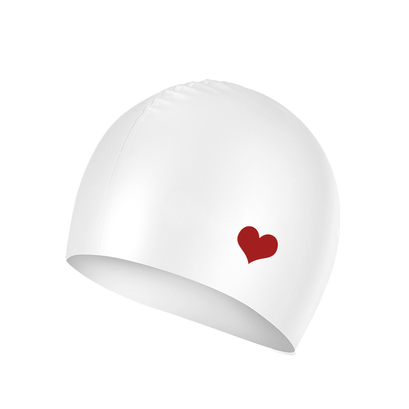 [해외]실리카 겔 방수 수영 모자는 귀를 보호합니다 긴 머리카락 수영 풀 모자 모자 수영 성인 여성용 무료 사이즈/Silica gel Waterproof Swimming Caps Protect Ears Long Hair Sports Swim Pool Hat Swimmi