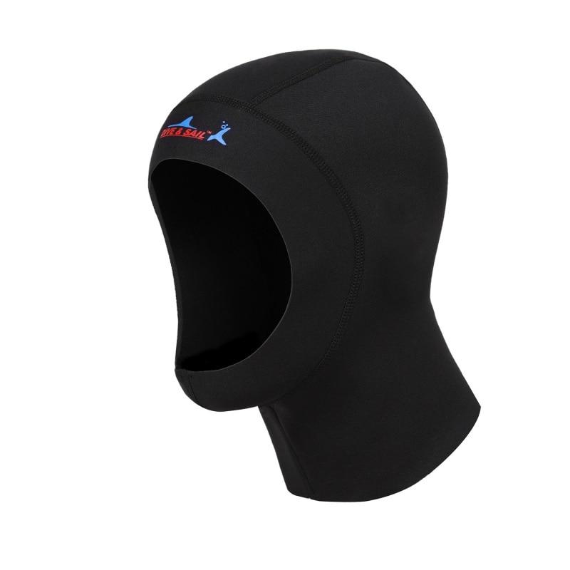 [해외]스노클링 장비 모자 두건 목 커버 3mm 네오프렌 보호 수영 모자 스쿠버 다이빙 캡 셔덜 수영 따뜻한 잠수복/Snorkeling Equipment Hat Hood Neck Cover 3mm Neoprene Protect Hair Swimming Hat Scuba