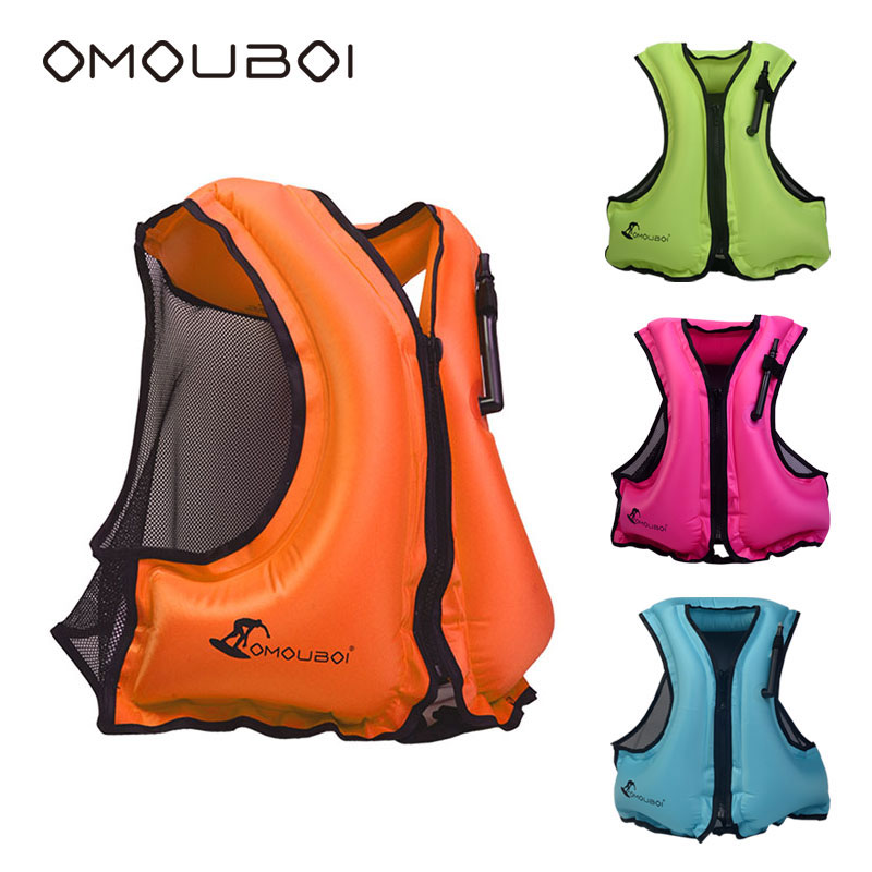 [해외]수영 안전 플로팅 구명 조끼 OMOUBOI 수상 활동 PFD 풍선 생활 부력 자 켓 20pcs / lot Auldts /Swim Safety Floating Life Jacket OMOUBOI Water Activities PFD Inflatable Life B