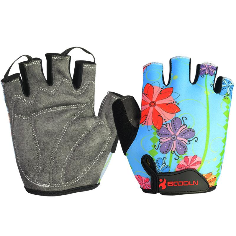 [해외]BOODUN 사이클링 장갑 반 손가락 Shockproof 통기성 MTB 도로 자전거 자전거 장갑 스포츠 장갑 아이들을남성 여성을위한/BOODUN Cycling Gloves Half Finger Shockproof Breathable  MTB Road Bike B