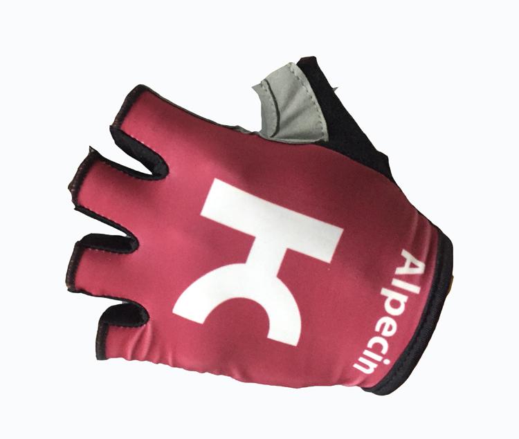 [해외]2018 카투사 ALPECIN 팀 원 페어 스포츠 하프 핑거 사이클링 저지 장갑 MTB로드 마운틴 바이크 자전거 젤 장갑/2018 KATUSHA ALPECIN Team One Pair Sports Half Finger Cycling Jersey Gloves MT