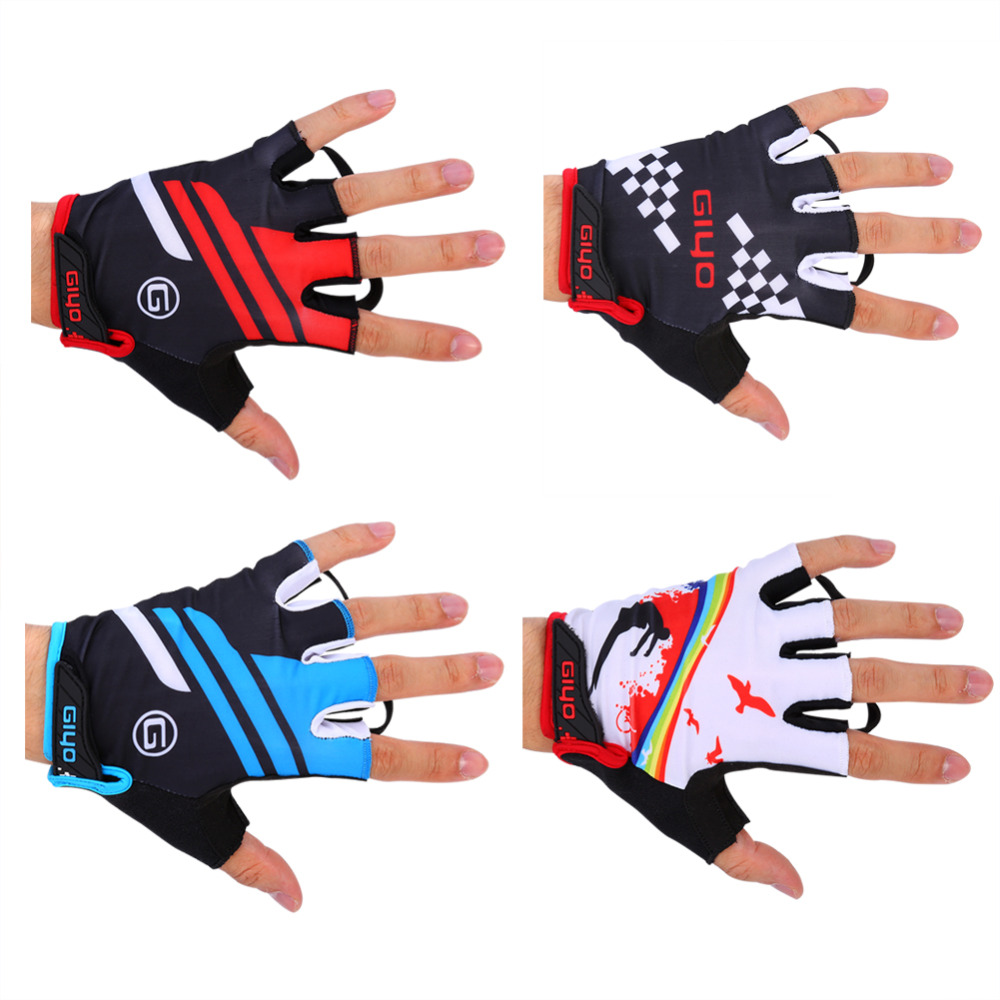 [해외]클리어런스 사이클링 장갑 하프 핑거 망 여성 및 여름 스포츠 Shockproof Road Bike Glo Moutain Bicycle Gloves/Clearance Cycling Gloves Half Finger Mens Women&s Summer Sports