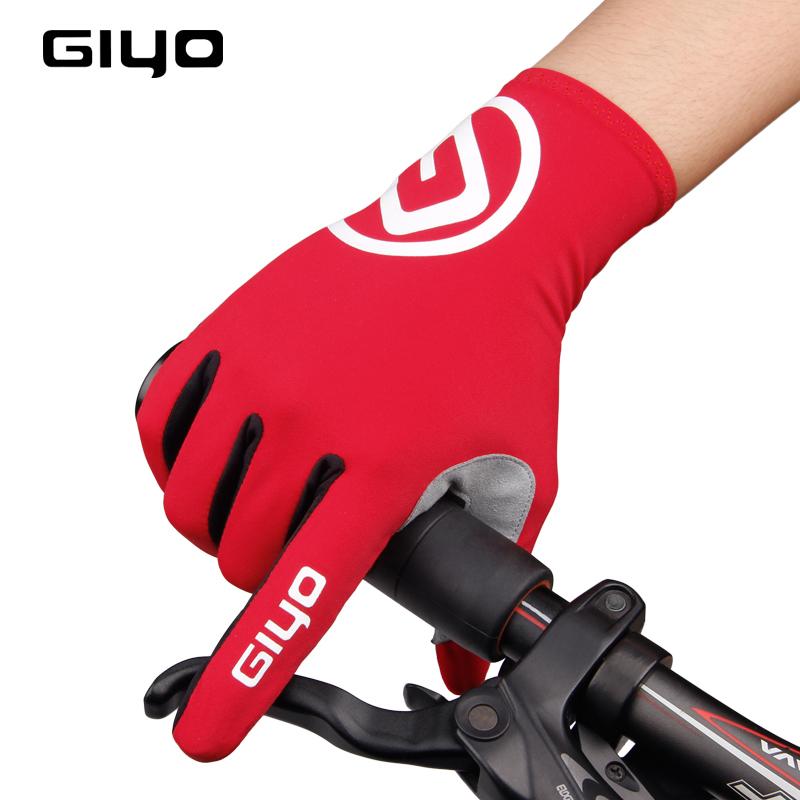 [해외]GIYO 터치 스크린 사이클링 장갑 긴 전체 손가락 젤 자전거 장갑 겨울 가을 여성 레이싱 MTB로드 자전거 장갑/GIYO Touch Screen Cycling Gloves Long Full Fingers Gel Bicycle Gloves Winter Fall