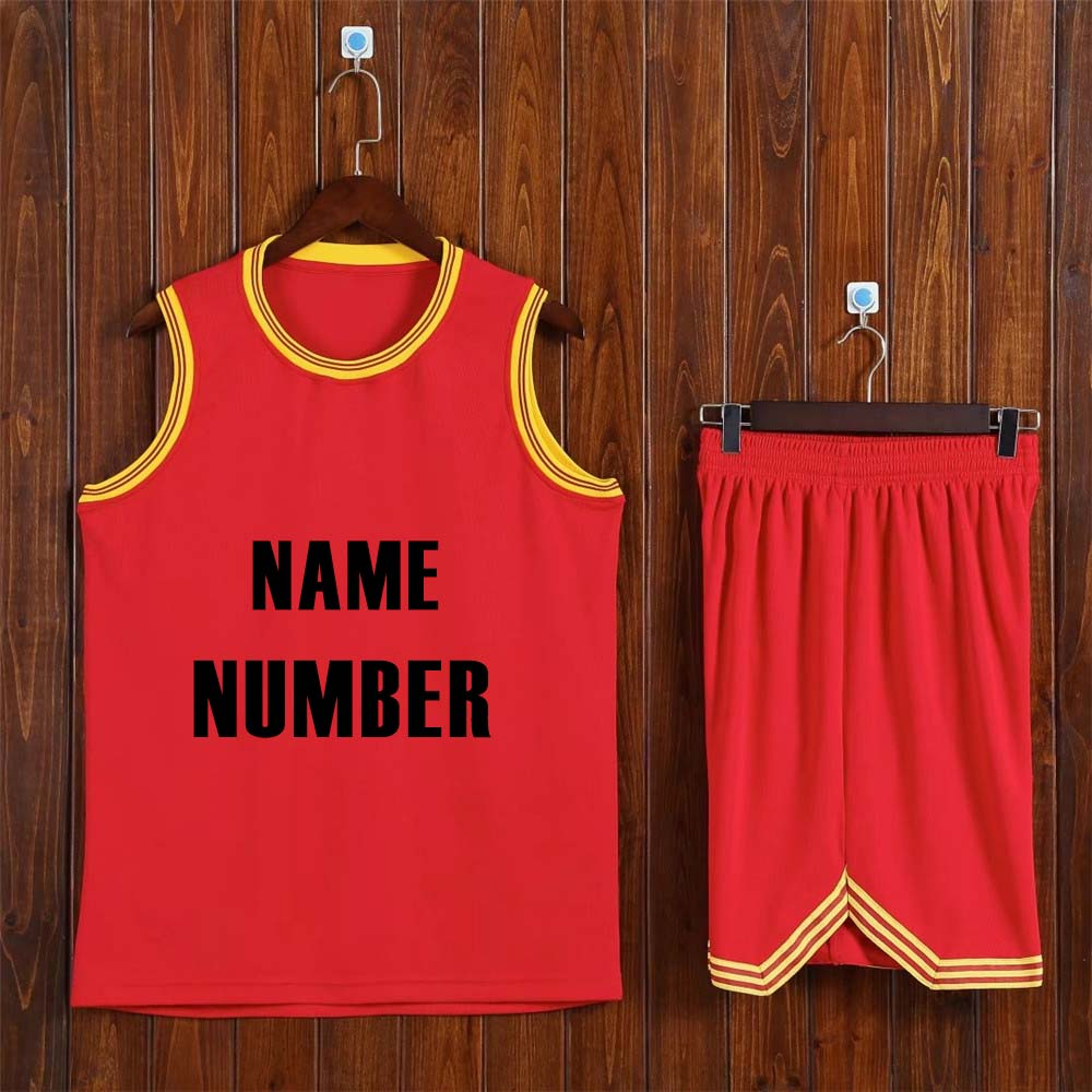 [해외]Adsmoney 농구 유니폼과 반바지 정장 남자 농구 키트 성인 훈련 조끼 어떤 로고와 이름과 번호를 사용자 정의/Adsmoney basketball jerseys and shorts suit men basketball kits adult training ves