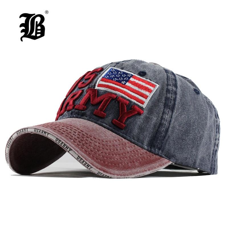[해외][FLB]면 100 % 면봉 야구 모자 남자 여름 모자 자켓 아빠 모자 여성용 Gorras Planas 스냅 백 모자 ArmyF128/[FLB] 100% Washed Cotton Baseball Caps Men Summer Cap Embroidery Casque