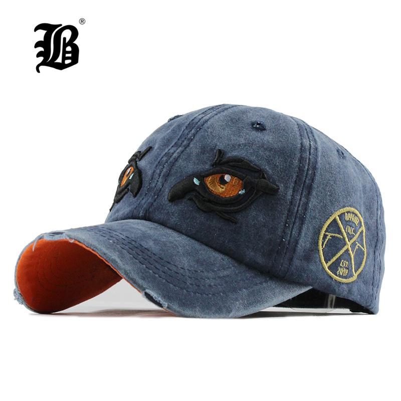 [해외][FLB] 면화 남성 모자 캡 야구 모자 힙합 Snapback 아빠 모자 여성용 모자 트럭 자수 이글 아이 카스 켓 F156/[FLB] Washed Cotton Men Cap Baseball Caps Hip Hop Snapback Dad Hat for Women