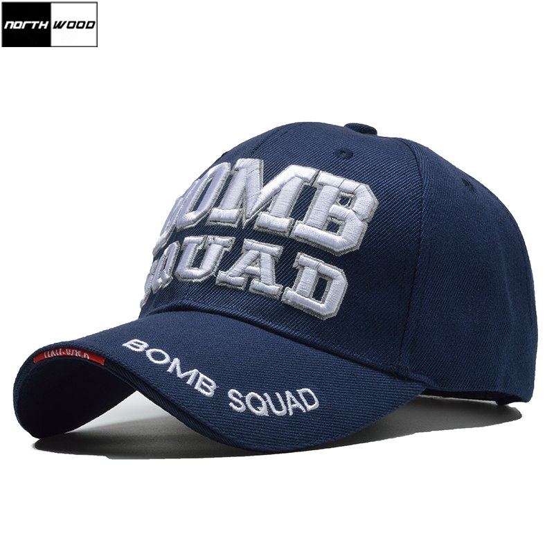 [해외][NORTHWOOD] 2018 새로운 전술 캡 육군 야구 모자 남자 BOMB SQUAD 편지 Casquette Homme Bone Masculino Snapback/[NORTHWOOD] 2018 New Tactical Cap Army Baseball Cap Me