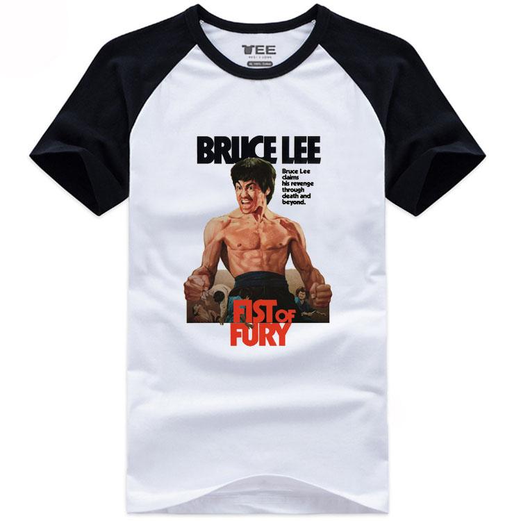 [해외]여름 스타일 어 쿵푸 티셔츠 브루스 리 인쇄 면화 티셔츠 남자 쿵푸 티셔츠/Summer Style Chinese Kung Fu T-shirts  Bruce Lee Printed Cotton T Shirt Men  Kung Fu T-shirts
