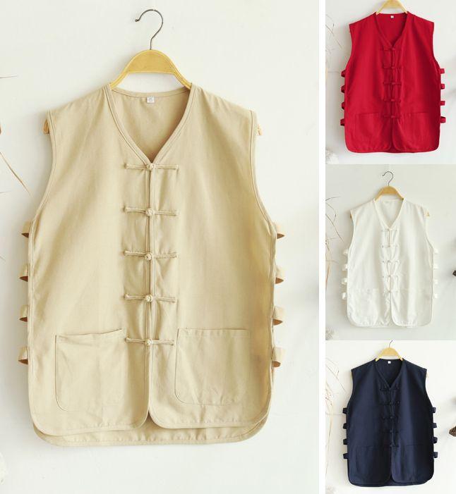 [해외]면화 굵고 재킷 여름 셔츠 남성 shaolin 승려 조끼 쿵푸 선종 스님 wushu 무술 정장을하다/cotton coarse jacket summer shirts male shaolin monks vest kung fu zen monk lay wushu mart