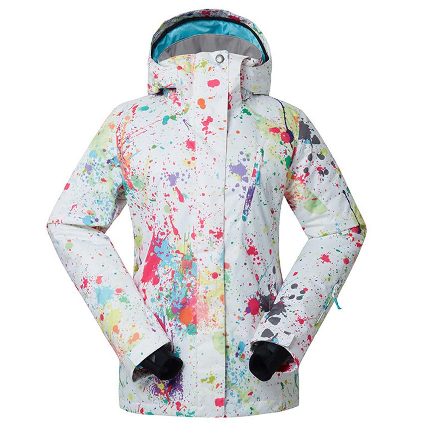 [해외]여자의 겨울 방수 스키 재킷 스포츠 야외 여성 코트 하이킹 스키 스노우 보드 캠핑 윈드 브레이커 MI006/Women&s Winter Thermal Waterproof Ski Jackets Sports Outdoor Female Coats Hiking Skiin