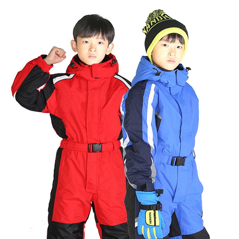 [해외]2017 겨울 짙어지기 방수 투습 샴 어린이의 스키 복 소년과 소녀의 스키 재킷/2017 Winter thickening Waterproof breathable Siamese children&s ski suits boys and girls ski jackets