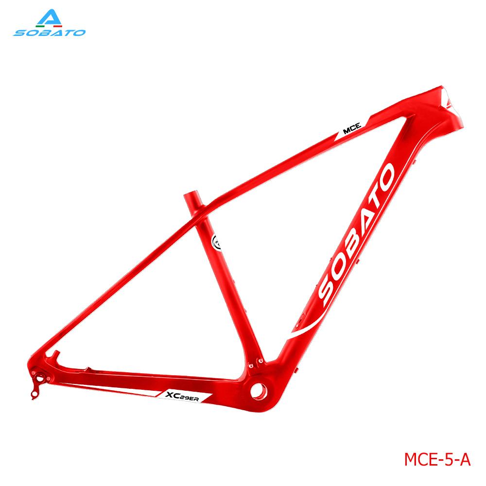 [해외]?상위 판매 전체 탄소 자전거 프레임 29er mtb 탄소 프레임 탄소 산악 자전거 프레임 크기 17inch/ Top sell full carbon bicycle frame 29er mtb carbon frame carbon mountain bike frame