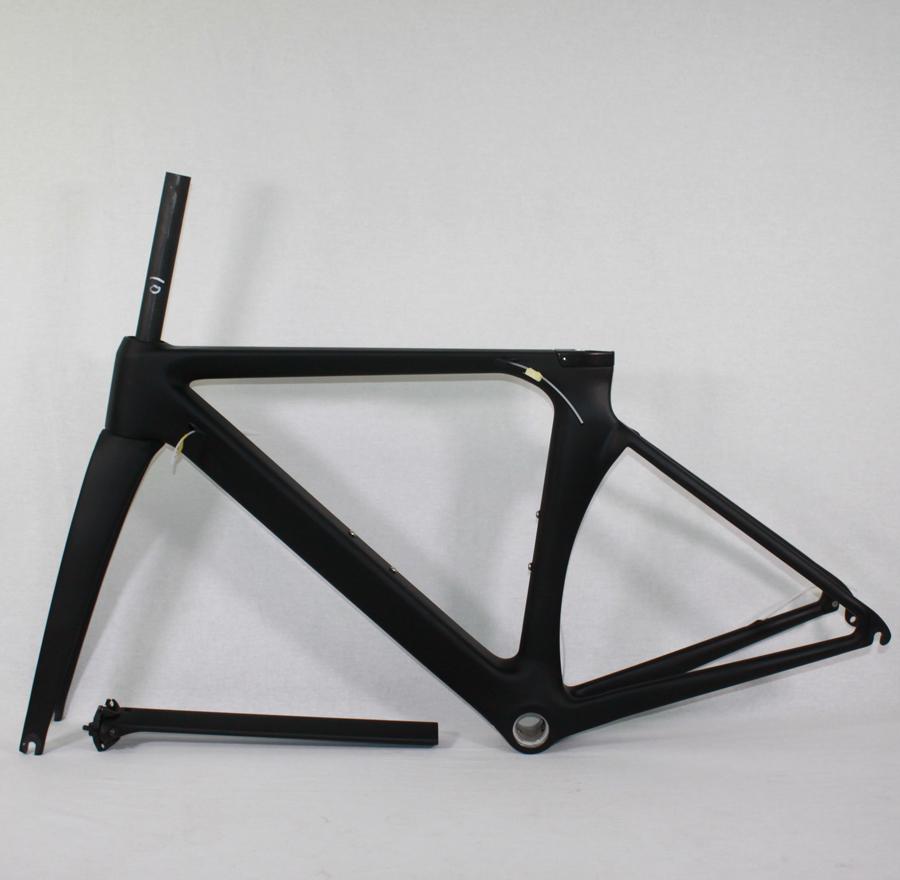 [해외]자전거 도로 자전거 탄소 프레임 자전거 Framesets 480 / 500 / 520 / 540 / 560mm 탄소 도로 항공기 프레임 700c 바퀴 자전거 부품/Bicycle road bike carbon frame bicycle Framesets 480/50