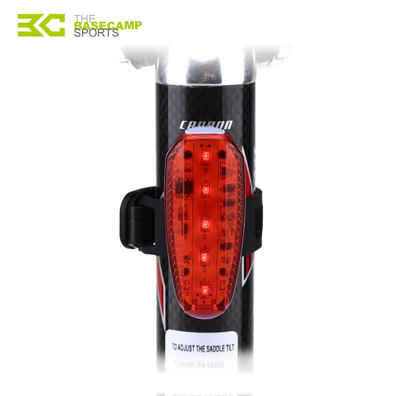 [해외]BASECAMP 자전거 라이트 안전 LED 자전거 백라이트 USB 충전식 경고등 빨간색 조명 야간 사이클링 백라이트 러닝 자전거 램프/BASECAMP Bike Light Safety LED Bicycle Back Light USB Rechargeable Warn