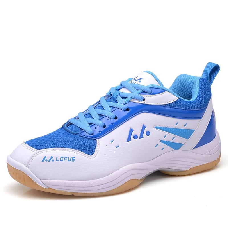 해외  Men Women Badminton Shoes Big Size Indoor Badminton Sneakers Couples  Sport Court e5049ef4e