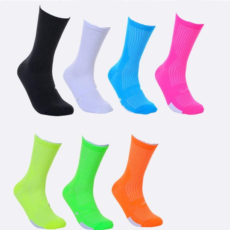 [해외] New Cycling Socks High Elasticity Outdoor Sports Wearproof Bike Footwear For Road Bike socks/ New Cycling Socks High Elasticity Outdoor Sports We