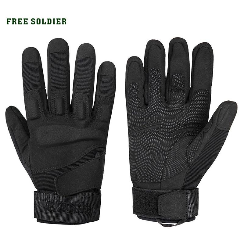 [해외]FREE SOLDIER outdoor hiking camping cycling sport men`s gloves training tactical wear-resisting gloves full finger male gloves/FREE SOLDIER outdoo