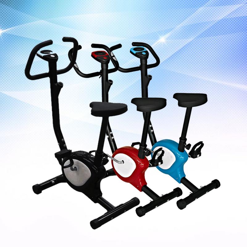 [해외]실내 홈 오피스 운동 자전거, 다이나믹 자전거 전자 시계, 피트니스 자전거, 레드 블랙 블루, 최대 하중 100kg/Indoor home office exercise bike, dynamic bicycle electronic watch, fitness bike,