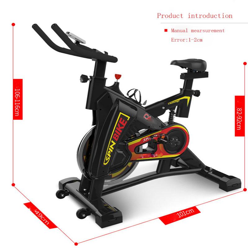 [해외]?실내 사이클링 자전거 음소거 인텔리전스 LED 디스플레이 안티 슬립 비상 브레이크 스템리스 스피드 실내 휘트니스 장비/ Indoor Cycling Bikes Mute Intelligence Led-display Anti-slip Emergency Braking