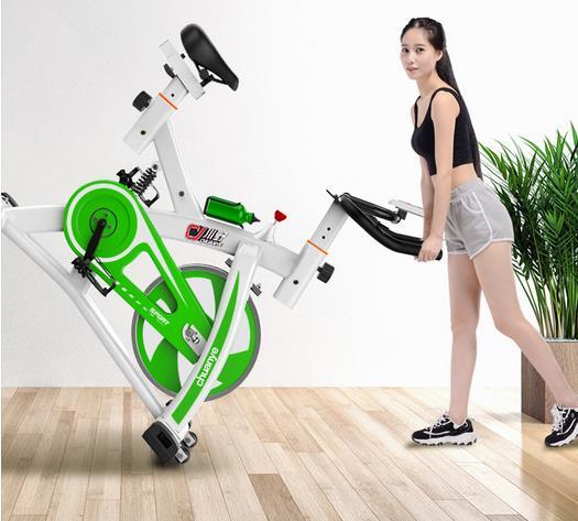 [해외]고정 자전거 실내 운동 자전거 체육관 장비 가정용 Finess 자전거 운동 자전거 스피닝 쇼크 업소버/Shock Absorber Spinning Stationary Bike Indoor Exercise Bike Gym Equipment Household Fine
