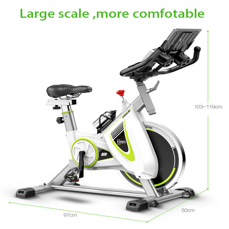 [해외]실내 운동 자전거 자전거 피트니스 장비 고급 철강 플라이휠 LCD 디스플레이 레저 체중 감량, 가족 사무실/Indoor Exercise Cycling Bikes Fitness Equipment Fine Steel Flywheel LCD Display Leisur