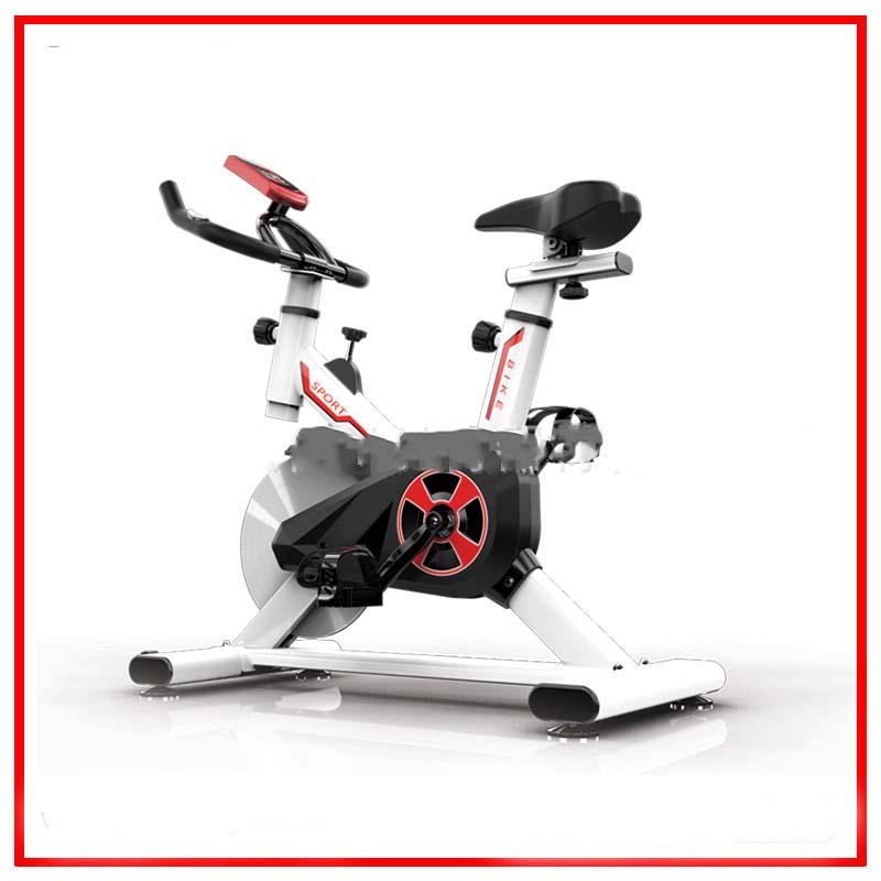 [해외]?회전 자전거 조절 가능한 좌석 큰 바퀴 LED 디스플레이 홈 머신 실내 체육관 운동 장비/ Spinning Bike Adjustable Seat Big Wheel LED-display Home Machine Indoor Gym Exercise Equipment