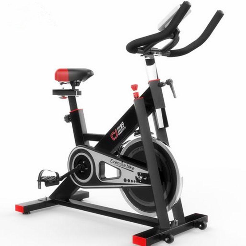 [해외]실내 운동 용 자전거 회전 자전거, 전자 시계, 6kg 관성 플라이휠, 무게 200kg, 흑백/Indoor exercise bike spinning bike,electronic watch, six kilogram inertia flywheel, weight 20