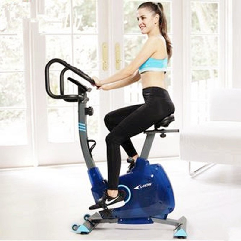 [해외]다이내믹 사이클링 Gome Fitness Equipment 음소거 실내 스포츠 자전거 Blue Fort Home 자기 제어식 운동 차/Dynamic Cycling Gome Fitness Equipment Mute Indoor Sports Bike Blue For