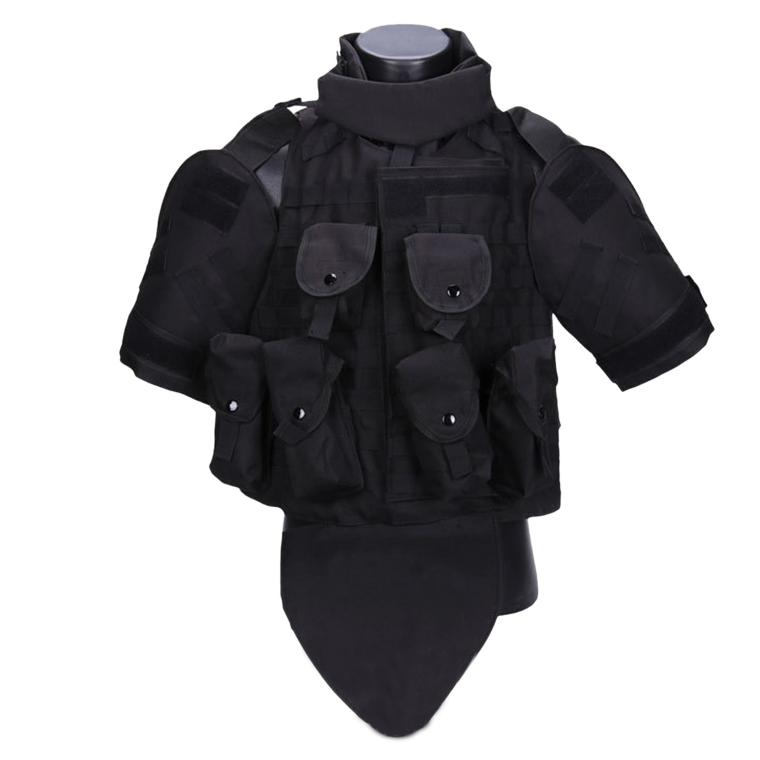 [해외]Wolf Slaves Interceptor Modular OTV Body Armor Tactics Vest Outdoor Molle Hunting Vest for Airsoft Paintball Protector 2019/Wolf Slaves Intercepto