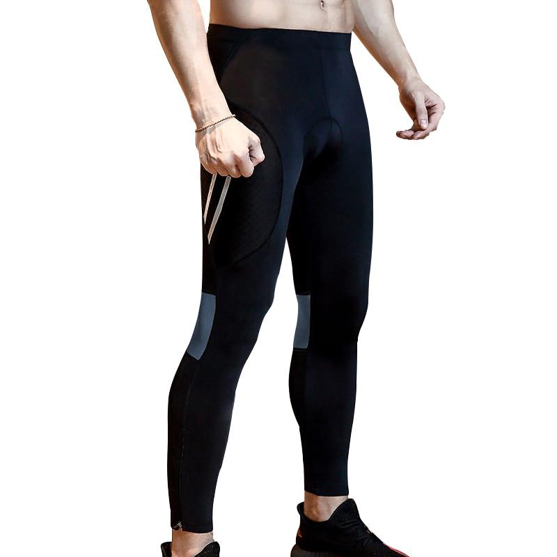 [해외]AGEKUSL Compression Pro Cycling Pants 3D Gel Pad MTB Bike Road Bicycle Men Pants Trousers Reflective Breathable Clothing 2019/AGEKUSL Compression