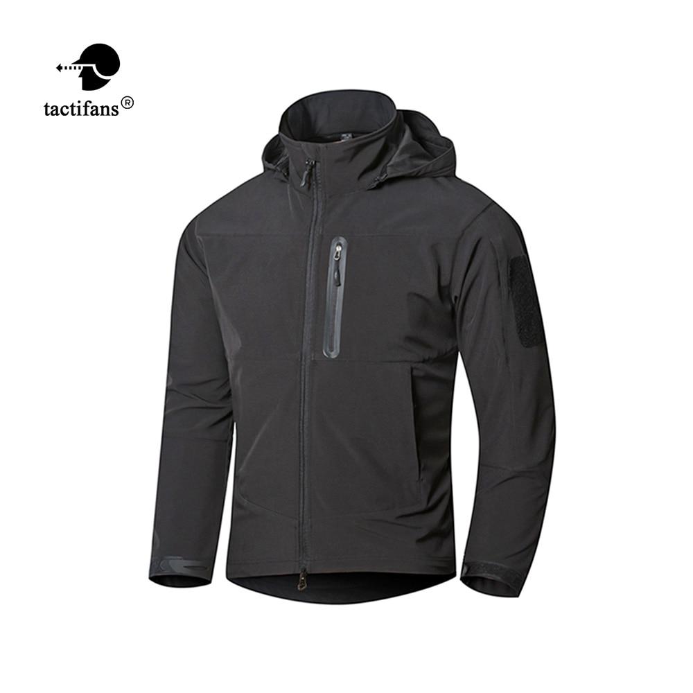 [해외]Tactifans Executive Men TAD Softshell  Shark Skin Hiking Jackets Waterproof Windbreakers Man Military Tactical Hooded Jackets/Tactifans Executive