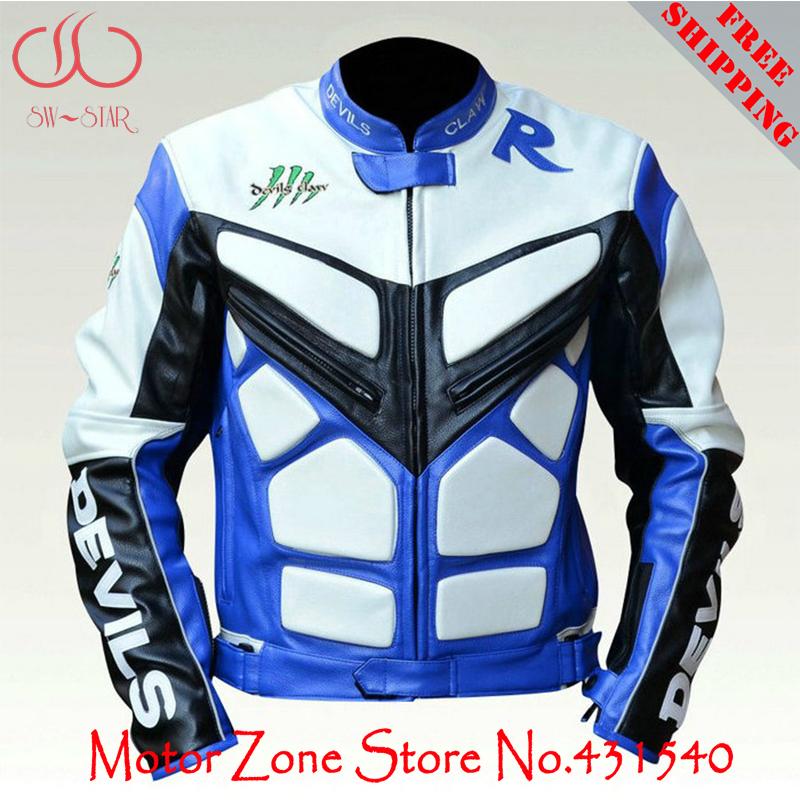 [해외] 악마 클로 오토바이 경주 재킷 vitual 피부 오토바이 경주 suitprotectors PU 가죽 도로를 타고 재킷 J3/Genuine Devils Claw motorcycle racing jacket vitual skin motorbike racing su