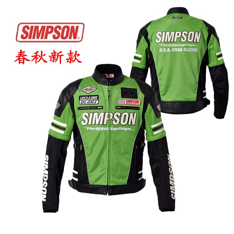 심슨 자동차를 타고 오토바이 의류 경주 재킷 - SJ-4115 재킷/Simpson automobile ride motorcycle clothing race jacket - sj-4115 jacket