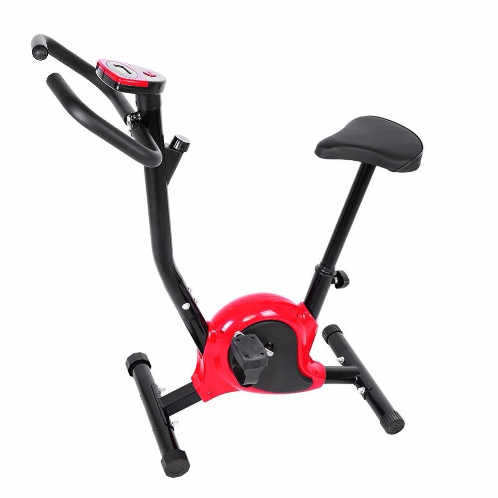 [해외]운동 자전거 가정용 운동 자전거 실내 사이클링 자전거 lcd 화면 피트니스 훈련 바디 트레이닝 머신/운동 자전거 가정용 운동 자전거 실내 사이클링 자전거 lcd 화면 피트니스 훈련 바디 트레이닝 머신