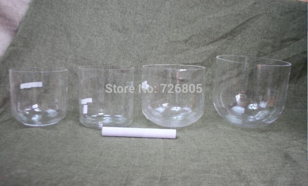 [해외]제 3 회 옥타브 ~ --- 8.5 ~ 7에서 bowlsC DEFGAB 음표를 노래 한 세트의 명확한 수정 결정을 7pieces/3th octave 7pieces one set clear quartz crystal singing bowlsC D E F G A B