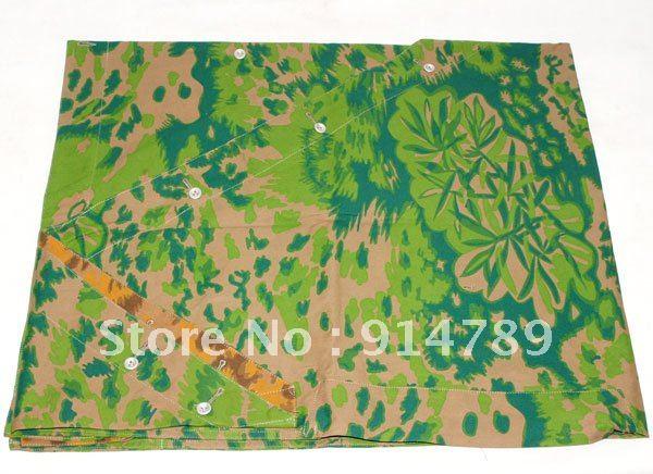 [해외]WW2 독일어 야자수 REVERSIBLE CAMO 텐트의 ZELTBAHN -31469/WW2 GERMAN PALM TREE REVERSIBLE CAMO TENT ZELTBAHN -31469