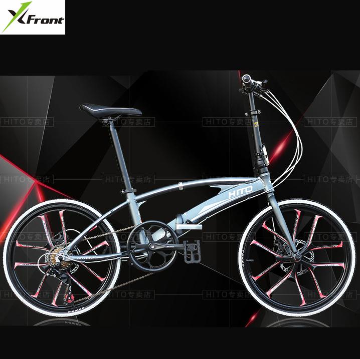 [해외]새로운 브랜드 20/22 인치 휠 알루미늄 합금 프레임 듀얼 튜브 접는 자전거 야외 BMX bicicletas 디스크 브레이크 자전거/New Brand 20/22 inch wheel aluminum alloy frame double tube Folding bik