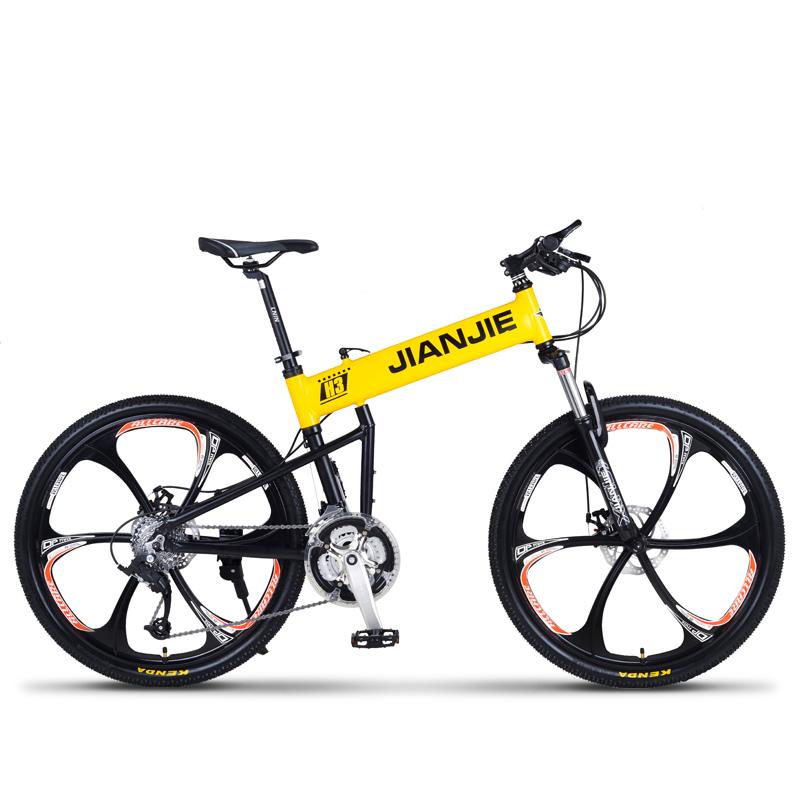 [해외]26 & 24/27/30 속도 알루미늄 합금 프레임 마운틴 바이크 / MTB, 스포츠 자전거 남자 & amp; 여성, 더블 디스크 브레이크/26& 24/27/30 Speed Aluminum Alloy Frame Mountain Bike/ MTB,