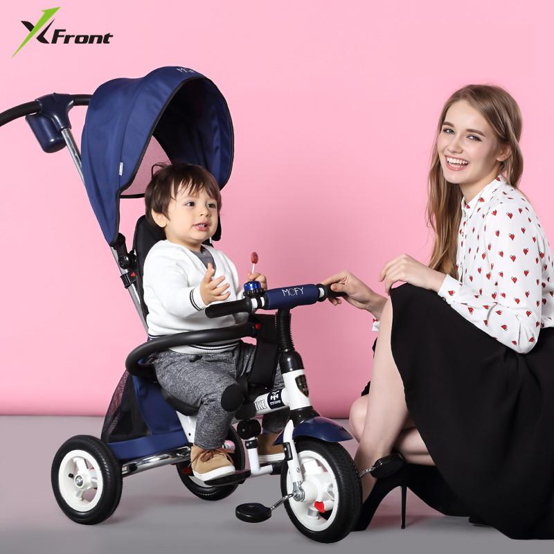 [해외]새 브랜드 어린이 세발 자전거 고품질 회전 좌석 아동 접는 트롤리 자전거 아기 유모차 BMX 아기 자동차 자전거/New Brand Child tricycle High quality swivel seat child Folding Trolley bicycle bab