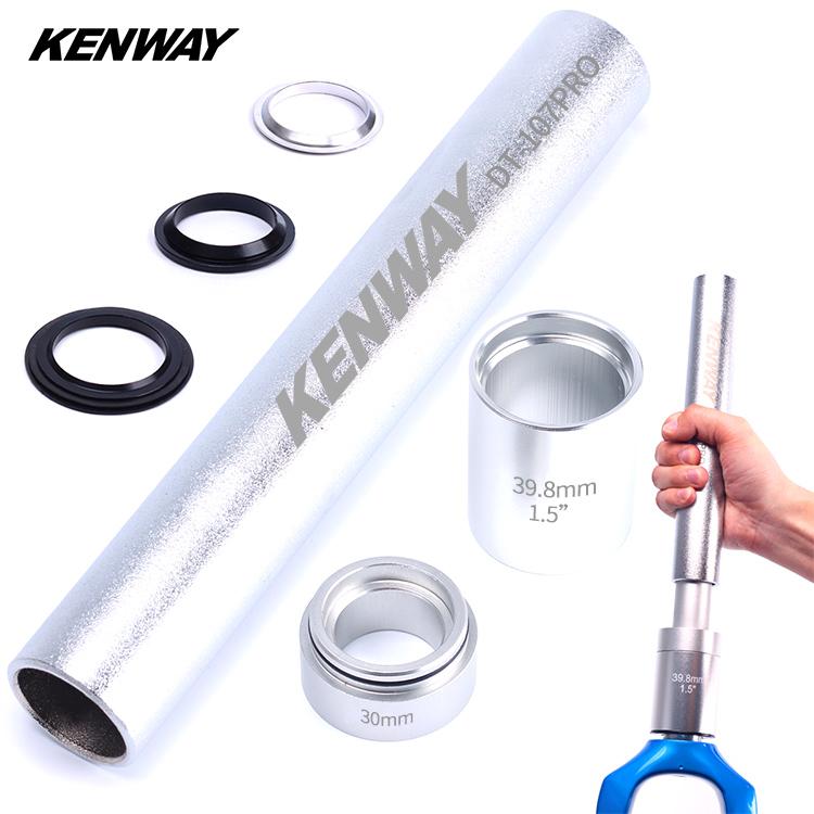 [해외]KENWAY Mtb 자전거 헤드셋 설치 도구 키트 1-1 / 8 & / 1.25 & /1.5 & bike 포크 Steerer 자전거 액세서리/KENWAY Mtb Bike Headset Installation Tools Kit for 1-1