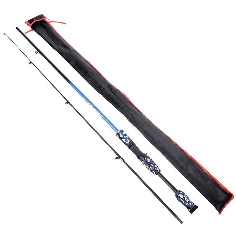 [해외]휴대용 1.8M 회전 막대 주조 막대 M 전원 라인 무게 6 - 15 파운드 초경량 위장 루어로드 미끼 탄소 낚시대/Portable 1.8M spinning rod casting rod M Power Line Weight 6-15lb Ultra-light Cam