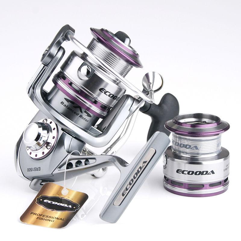 [해외]Ecooda 왕실 슈퍼 매끄러운 금속 유혹 낚시 reelspare 스풀 ERS 1500 2000 2500 3000/Ecooda royal sea super smooth metal lure fishing reelspare spool ERS 1500 2000 250