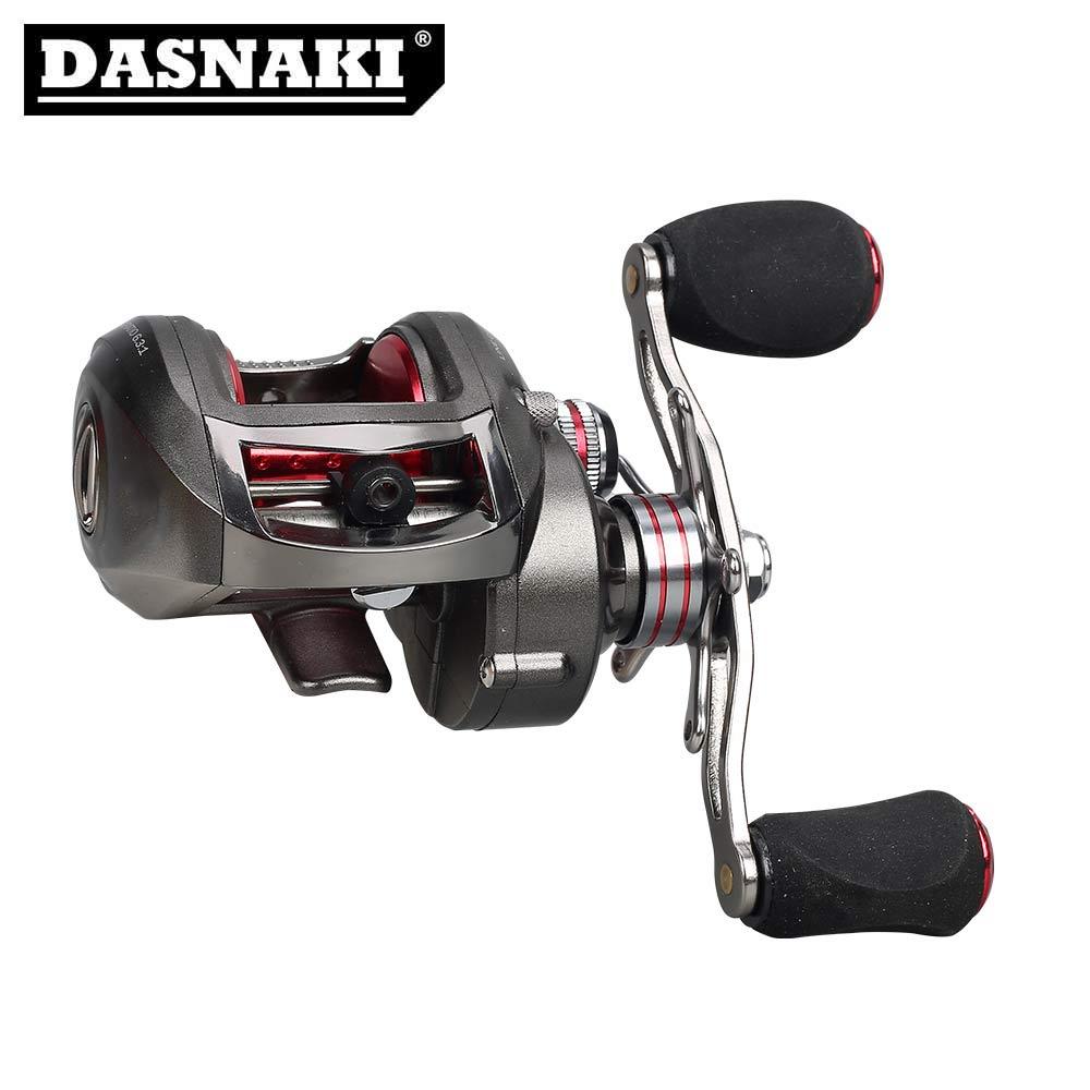 [해외]DASNAKI 미끼 주조 낚시 릴 원심 분리기 & amp; 마그네틱 브레이크 시스템 carretilha de pesca molinete casting para/DASNAKI Bait casting fishing reelCentrifugal & Ma