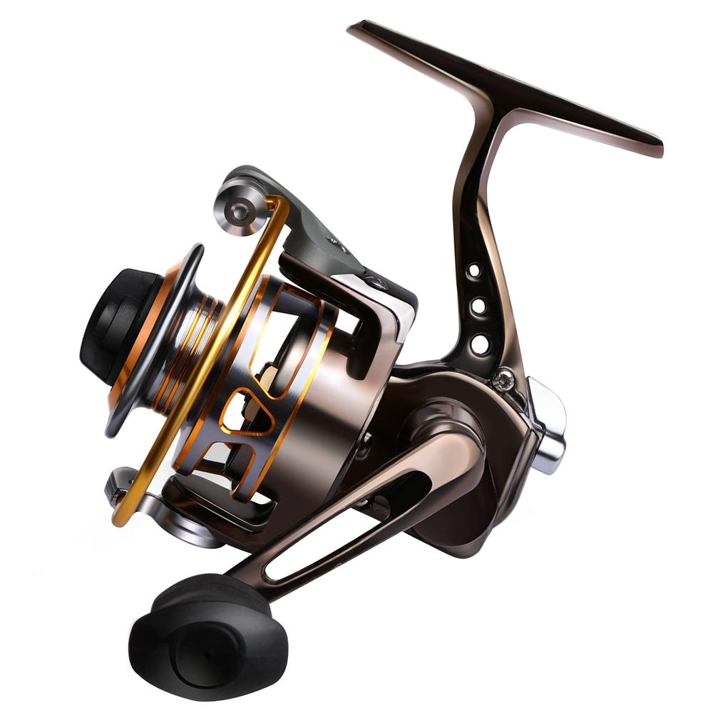 [해외]전체 금속 낚시 스피닝 릴 최대 드래그 8-10LB 팜 미니 얼음 낚시 릴 오른쪽 / 왼쪽 Pesca/Full Metal Fishing Spinning Reel Max Drag 8-10LB Palm Mini Ice Fishing Reel Right/Left Pe